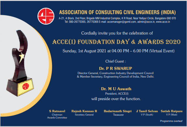 ACCEI Foundation Day & Awards 2020